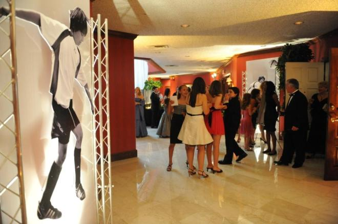 sports themed parties lifesize photos philadelphia party planners