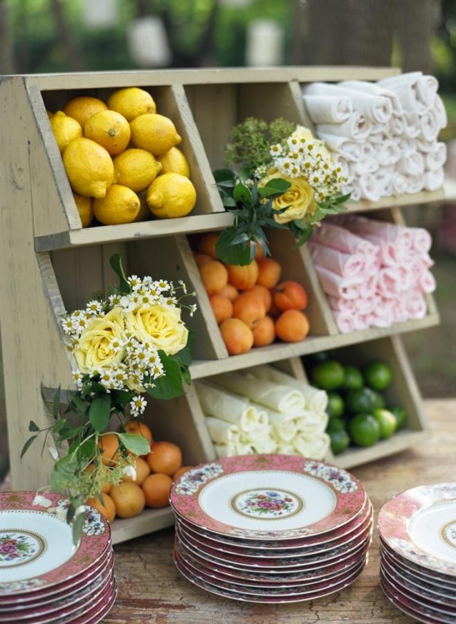 antique hutch for wedding decor food station design beach weddings delaware weddings high end wedding planners