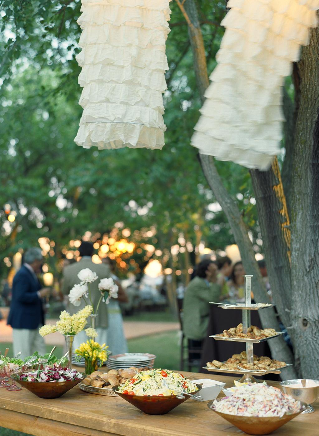 Outside Wedding Reception Food Ideas unusual – navokal.com