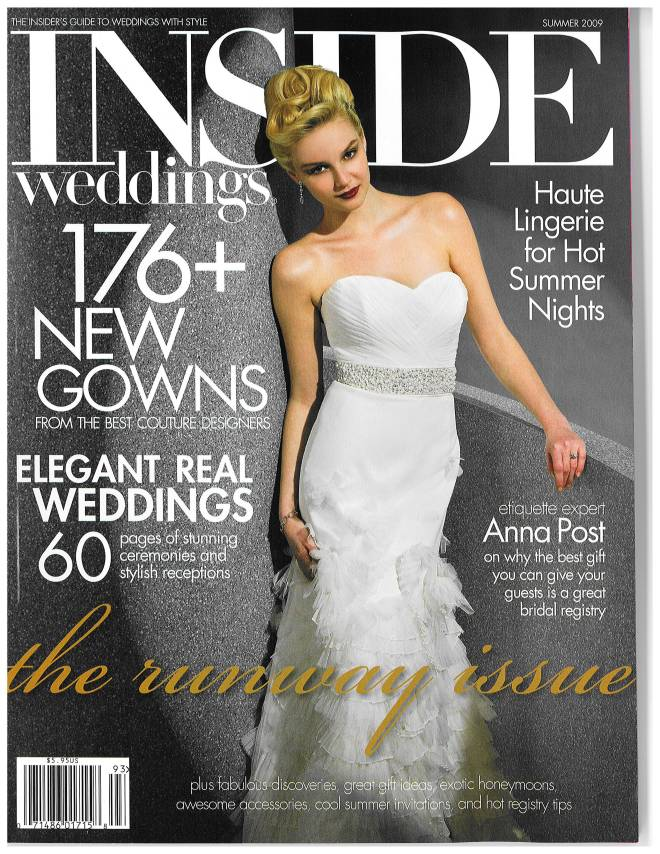 InsideWeddingsJuly09Cover