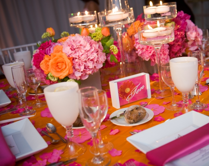 Real Stories Hot Pink Amp Orange Bat Mitzvah For Sydney