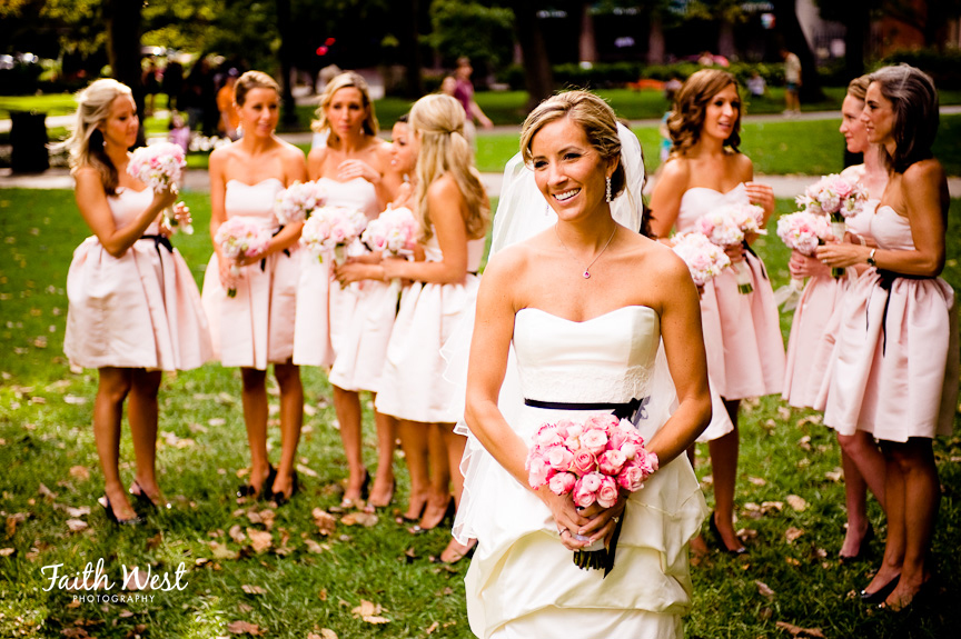 REAL STORIES: A Pink & Black Rittenhouse Hotel Wedding for Lindsey ...