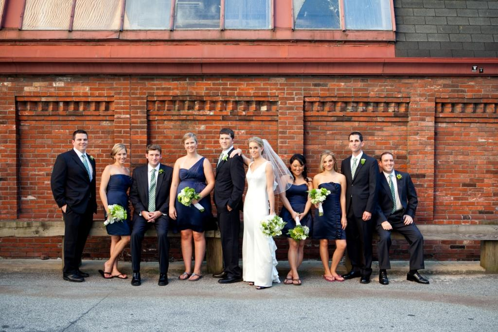Navy Blue Wedding Party Pictures Real Stories A Kimmel Center In City