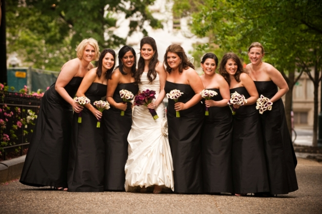 mini calla lilies in bridal bouquets philadelphia weddings
