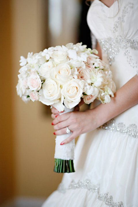 Bridal Bouquets Pink And White : Bridal bouquets evantine design