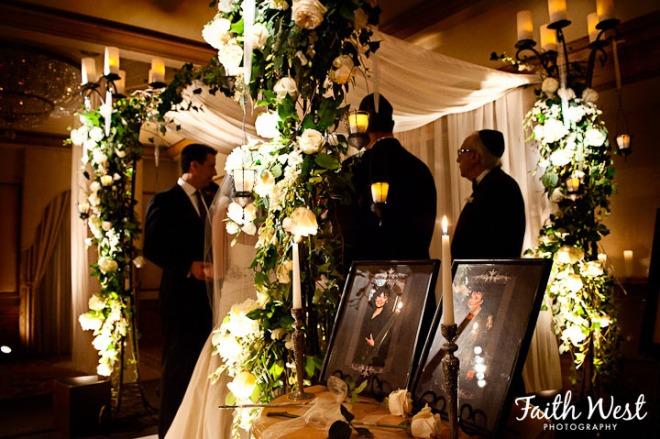 Rittenhouse Hotel Weddings Evantine Design Jewish Chuppah