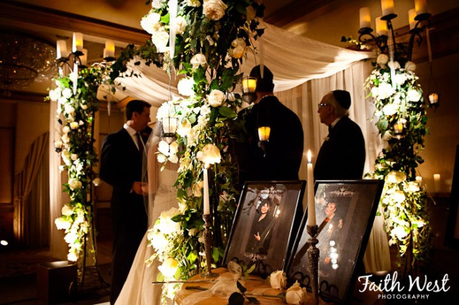 Rittenhouse Hotel Weddings Evantine Design Jewish Chuppah