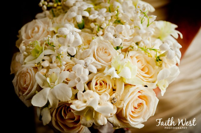 White Wedding Bouquets Evantine Design Rittenhouse Hotel Faith West
