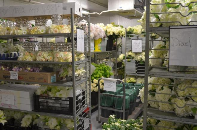florist supplies getting ready for weddings behind the scenes evantine design philadelphia florist