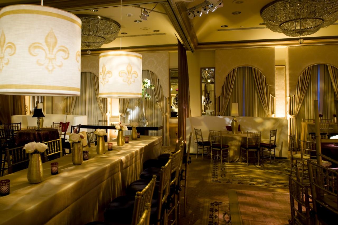 Design hotel ballrooms transform into lounge style for Design hotel wedding