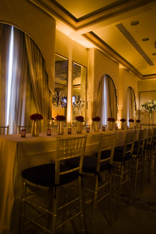 Community Tables Formal Hotel Ballrooms Philadelphia Event Planners
