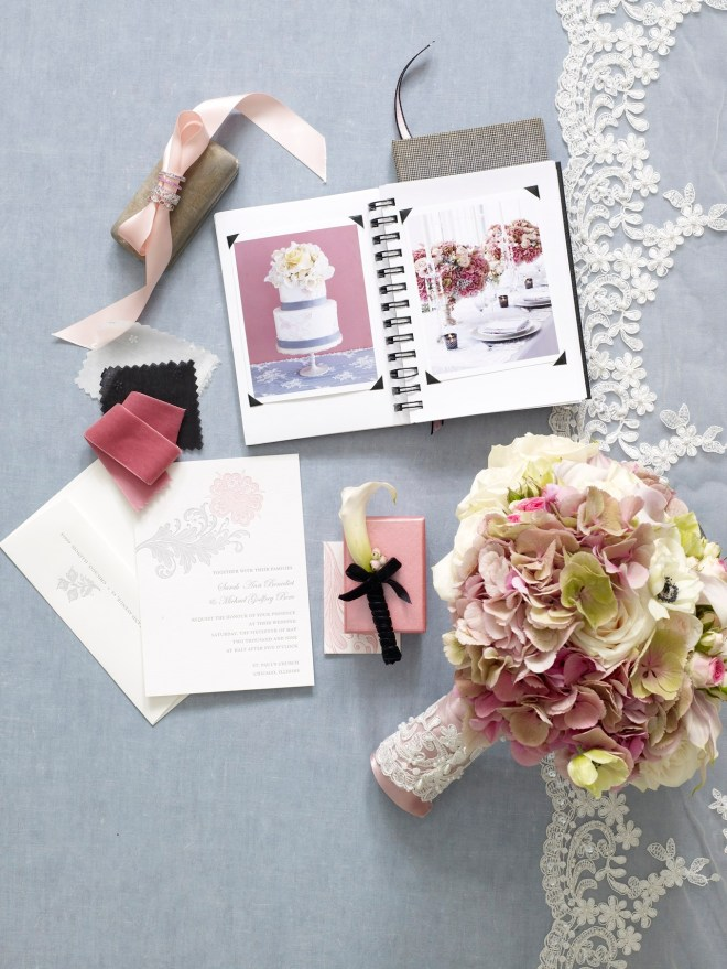 gray pine and lace bridal inspiration the knot photo shoot with evantine design