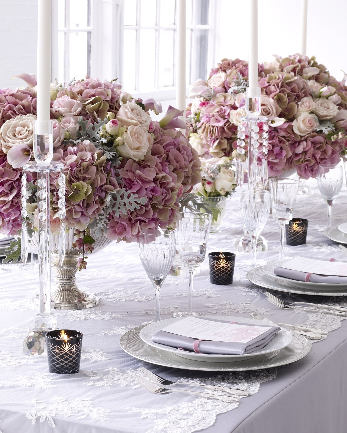 Lace inspirations evantine design blog for Table design for wedding