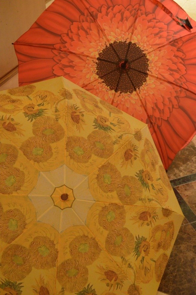 van gogh impressionist umbrellas for her mothers day gifts valentines day
