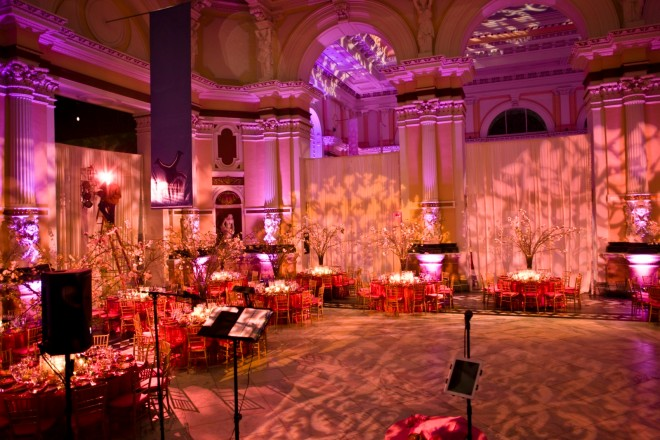 Pink Weddings with Flowering Branches Philadelphia Wedding Planners
