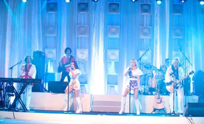 Abba Tribute Band Second Stage Evantine Design Bat Mitzvah