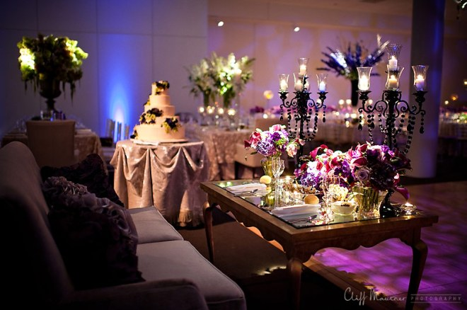 coffee table decor for bride and groom sweetheart table evantine design