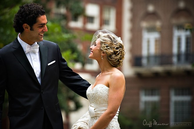 groom sees bride for first time washington square park philadelphia cliff mautner