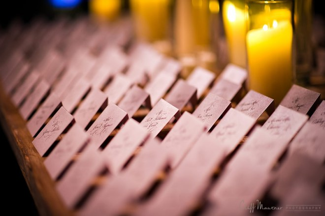 hand calligraphed place cards philadelphia weddings michael weinstein
