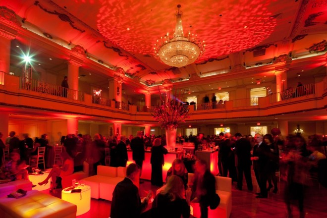 lounge style setting charity ball event design philadelphia party planners