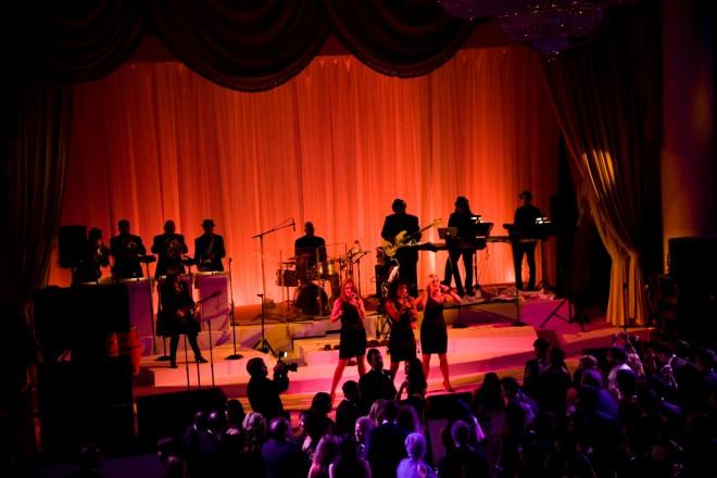 Multi-tiered Stage for Weddings Philadelphia Event Designers