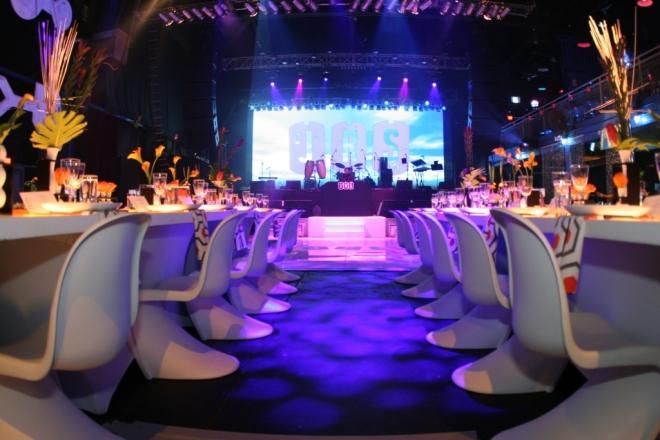 Rock the Vote Dance Floor and Stage Evantine Design-c