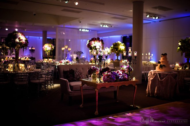 wedding decor at National Jewish History Museum Philadelphia Weddings Eventions Lighting