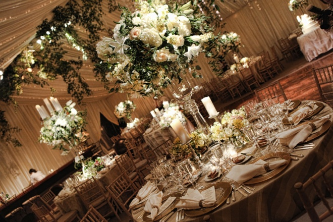 Garden Wedding Champagne and Ivory Tented weddings main line pa Evantine Design