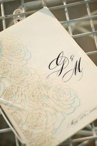 Laser Cut Lace-inspired Wedding Ceremony Programs Evantine Design
