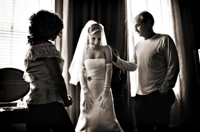 Wedding preparations Philadelphia Brides Long White Gloves Evantine Design