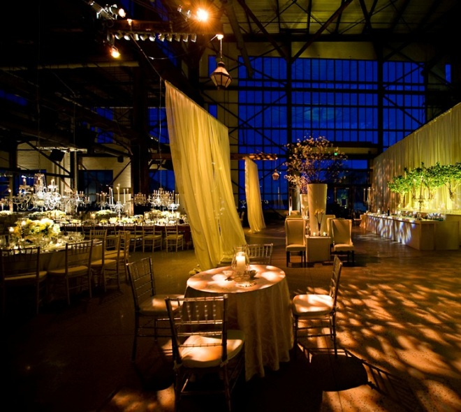 Weddings at Urban Outfitters Lounge Seating Yellow Event Design