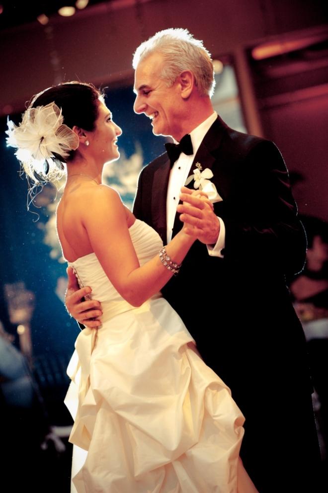 bride dancing with her father philadelphia weddings traditional weddings rittenhouse hotel evantine design