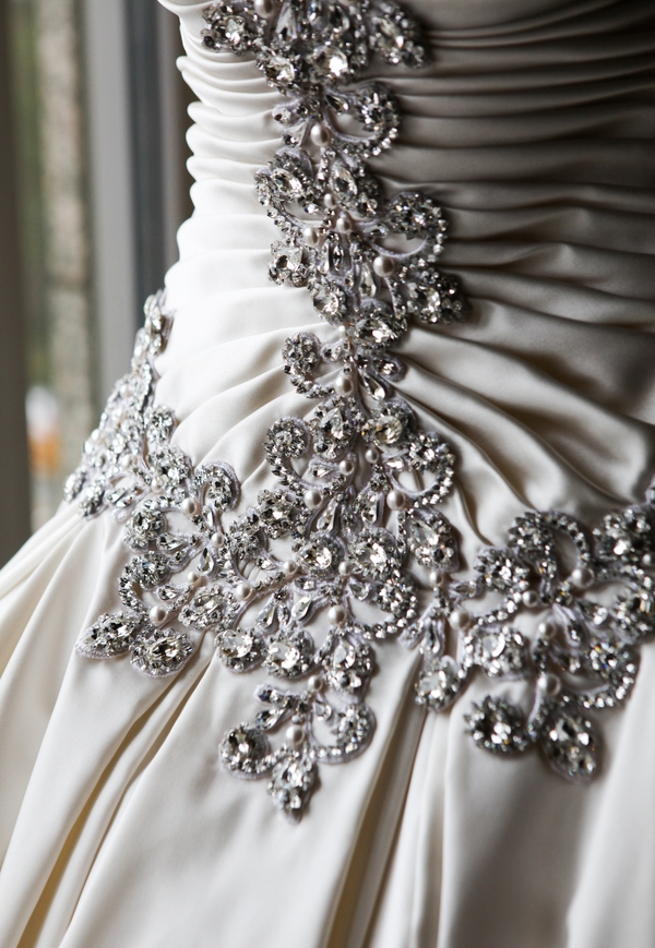 crystal embroidered wedding ballgown luxury weddings philadelphia