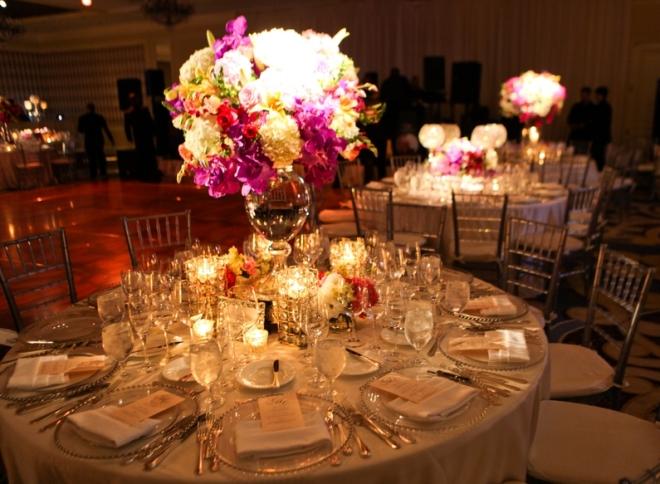 dinner tables ballroom design weddings at four seasons hotel philadelphia evantine design