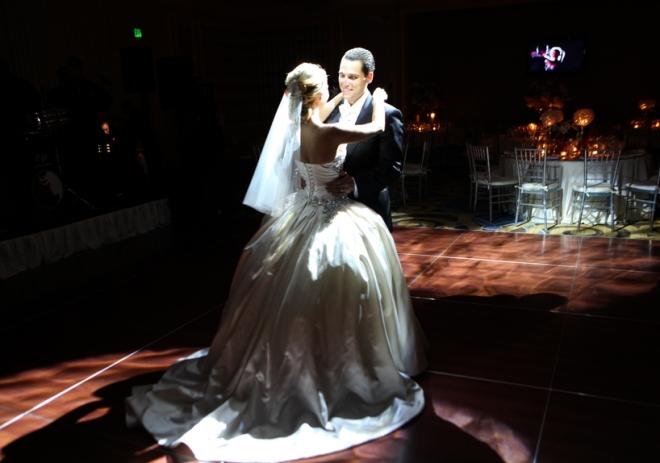 dramatic first dances philadelphia weddings evantine design