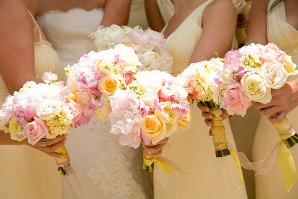 Wedding Flowers Red And Yellow : Bridal bouquets evantine design