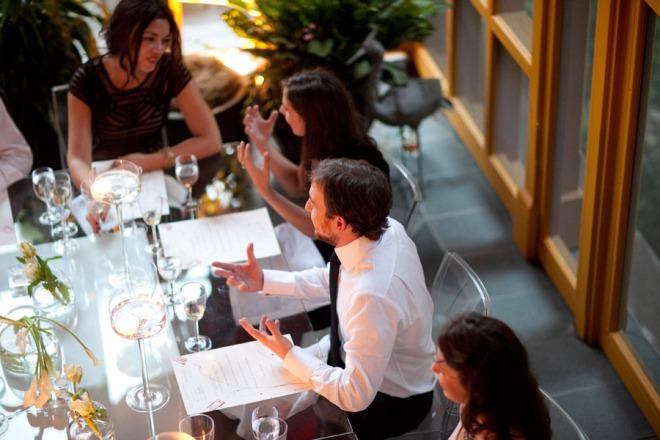 Groom Marc Vetri Dinner Friday Weddings Evantine Design