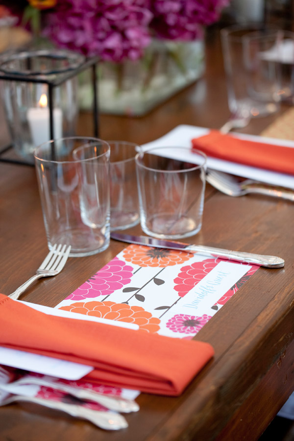 Modern Paper Place Mats Wooden Dinner Tables Wedding Ideas