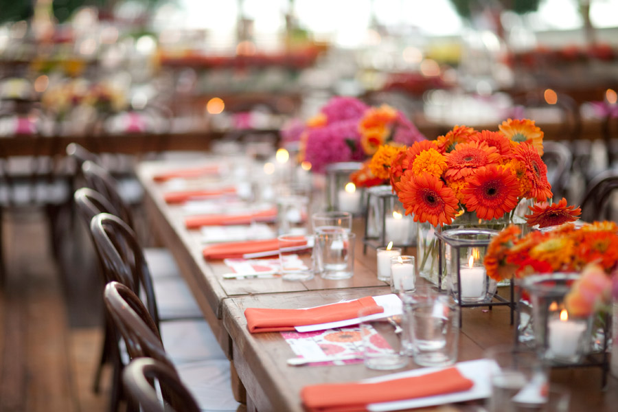 Real Stories A Vibrantly Hip Outdoor Wedding At Andalusia