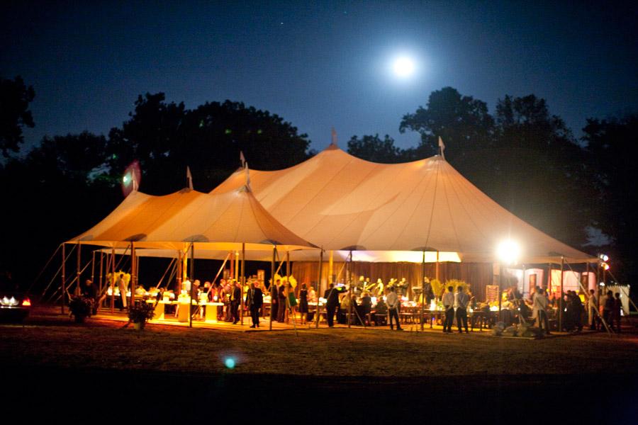 Luxury tents wedding