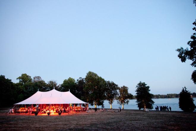 Sail Cloth Tents Philadelphia Weddings on the Water Evantine