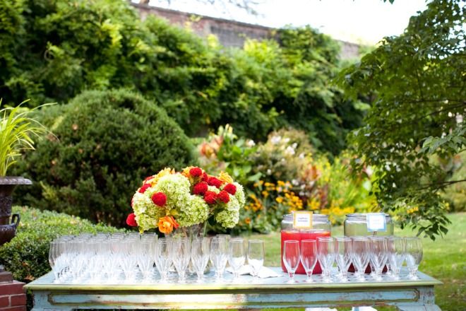 Signature Drink Bar Andalusia estate weddings Philadelphia