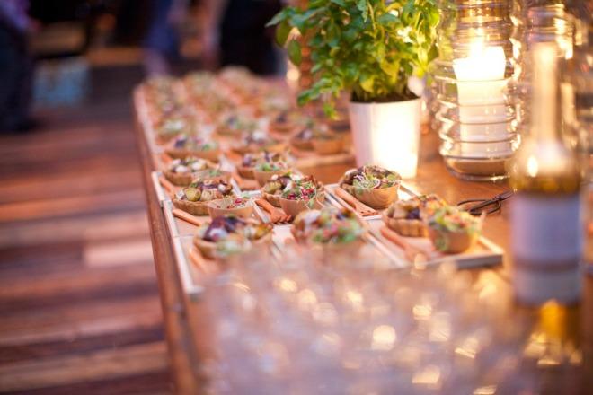 Wild Mushroom Tarts Food Station Herbs Modern Candles Evantine Design Peter Callahan