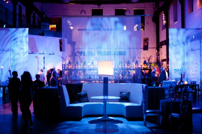 blue lounge for bar mitzvahs philadelphia event planners evantine design