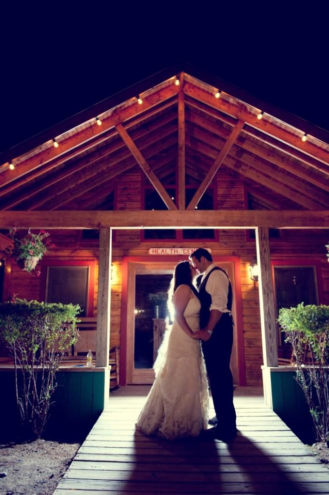 Bride and Groom Portrait Camp Weddings Pennsylvania Evantine Design