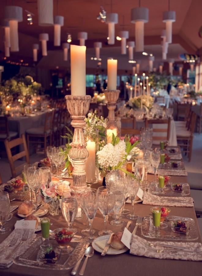 Camp Cafeteria Becomes Wedding Ballroom Evantine Design Love Shack