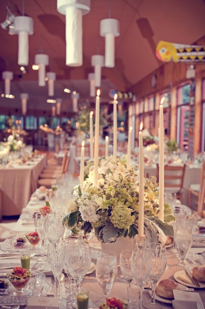 Camp Cafeteria Wedding Poconos Evantine Design Love Shack