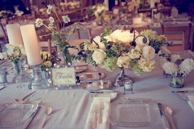 Centerpieces Camp Wedding Evantine Love Shack