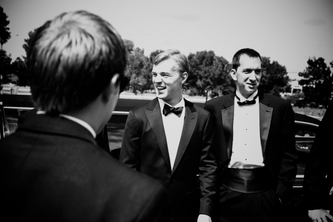 Classic Groom Tuxedo Black and White Photography Weddings Philadelphia