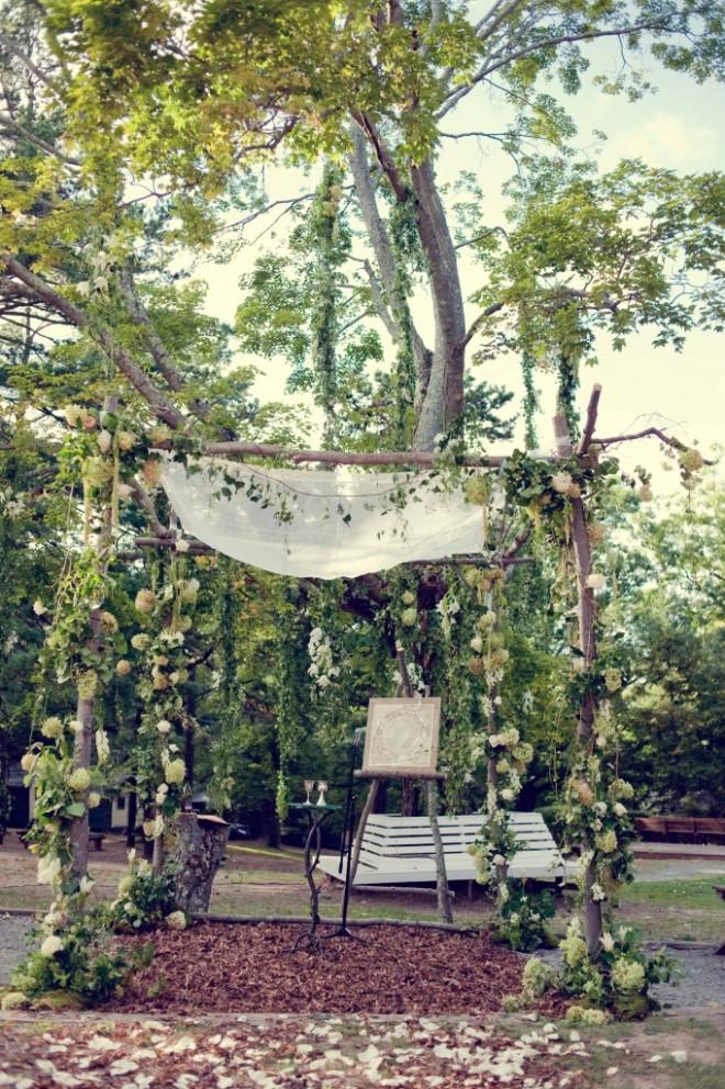 Country Chuppah Camp Weddings Evantine Love Shack